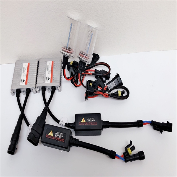氙气灯套装55W AC W/O CANBUS 9005 HB3 6000K HID Xenon Lights Conversion Kit Slim Ballast