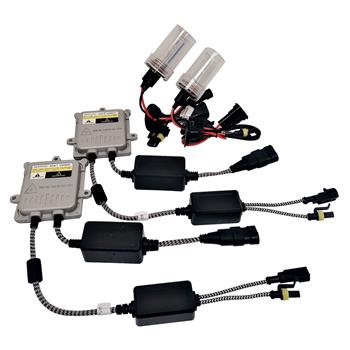 55W AC CANBUS H4 9003 Hi/Lo Beams 3000K HID Xenon Light Kit Error Free w/ Slim Ballasts