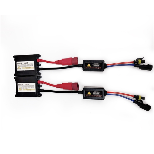 氙气灯套装35W AC W/O CANBUS 9005 HB3 4300K HID Xenon Lights Conversion Kit Slim Ballast
