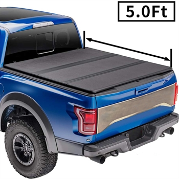 皮卡硬三折盖板For 2019+Ford Ranger 5'HARD  TRI-FOLD
