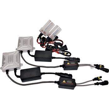 35W AC CANBUS 9004 9007 Hi/Low Beams 10000K HID Xenon Light Kit Error Free w/ Slim Ballasts