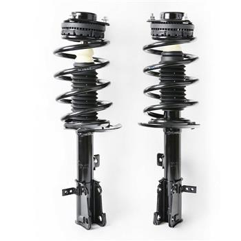 Front Pair (2) Complete Strut Assembly w/Coil Spring Fits 08-2014 Dodge Avenger