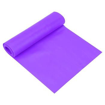 2m Elastic Stretch Yoga Strap Resistance Band Fitness Exercise Workout Belt Accessory(Purple)