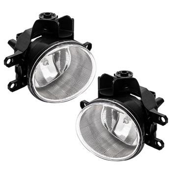 For 16 17 18 Toyota RAV4 Clear Bumper Fog Lights Driving Lamps Kit w/Switch Pair