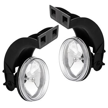 Clear Lens Bumper Fog Lights Lamps For 1994-2001 Dodge Ram CH2593120 CH2592120