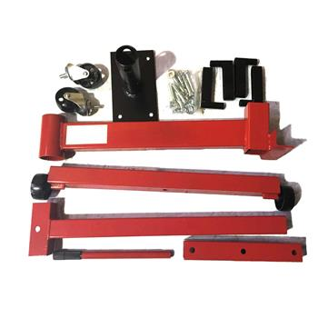New Shop Engine Stand 1000lb Pro Hoist Automotive Lift Rotating 4 Leg Type Motor Red