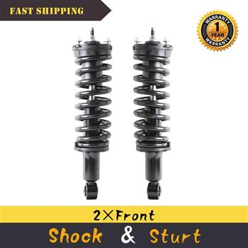 Front (2) Strut & w/Coil Spring For 2004 05 06-12 Chevy Colorado GMC Canyon 2WD