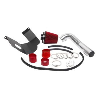 """3.5"""" Intake Pipe With Air Filter for GMC/Chevrolet Suburban 1500 2012-2014 V8 5.3L/6.2L Red"""
