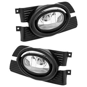 For Honda Accord 01-02 Replacement Fit Fog Lights Wiring Kit Clear Lens