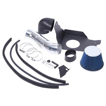"3.5"" Air Intake Kit For Ford Mustang GT 2005-2009 V8 4.6L Blue"
