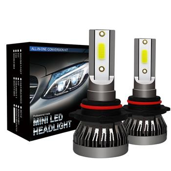 2PCS 9005 Headlight LED Coversion Bulb Kit High Beam 97500LM 650W White 6000K