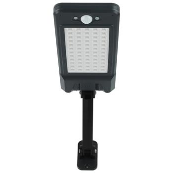60LED Solar Wall Light 900LM With Remote Control (Light Control, Human Body Induction) White Light Customized Model ZC001242 Actual Wattage: 4W Battery: 18650 3.7V 4400mah Solar Panel: 5V 3.2W