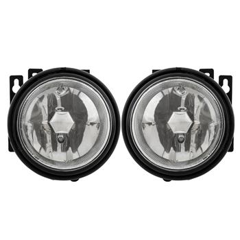 For 03-08 Honda Element Clear Fog Lights Front Bumper Lamps Pair&Switch&H3 Bulbs