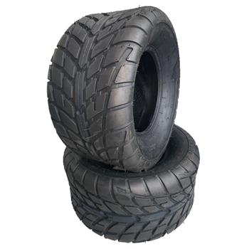 20x10-10 ATV Tires 255/50-10 ATV Race Tubeless 6 PR Z-129 [Set of 2]