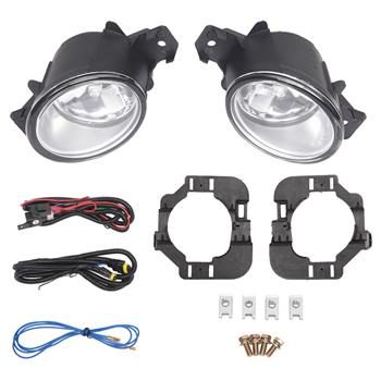 Pair Fog Light (Left & Right) & Wiring For Nissan Altima 2007-2009