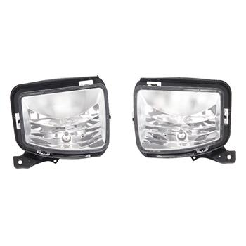 Front Bumper Fog Light Lamp w/Switch Wiring For 2013-2018  RAM 1500