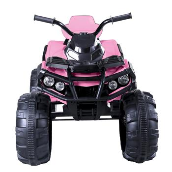 LEADZM LZ-906 ATV Double Drive Children Car with 45W*12 12V7AH*1 Battery without Remote Control Pink