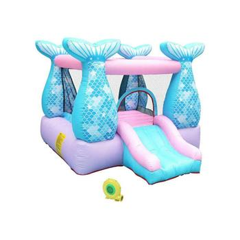 Details about  Inflatable Bounce House Child Kids Jumper Castle Safe Slide Blower Carry Bag