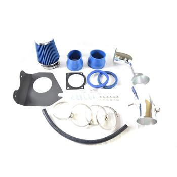 Intake Pipe with Air Filter for 1994-1995 Ford Mustang GT/ GTS 5.0L V8 Model Only Blue