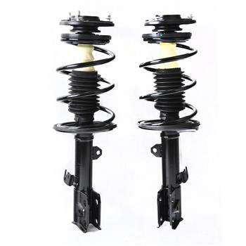 Front 2 Quick Complete Struts & Coil Spring Assembly For 2009-13 Toyota Corolla