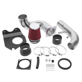 """3.5"""" Intake Kit Is Available For The Ford Mustang 1996-2004 V8 4.6l Silver   Red"""