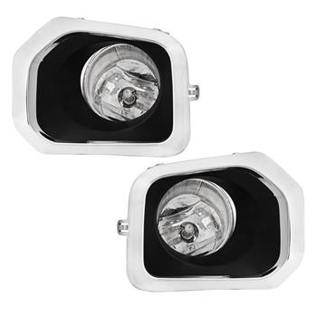 Left&Right Fog Lights For 2016 2017 2018 Toyota Tacoma w/Wiring Switch