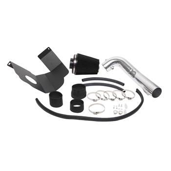 """3.5"""" Intake Pipe With Air Filter for GMC/Chevrolet Suburban 1500 2012-2014 V8 5.3L/6.2L Black"""