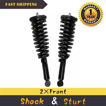 For Kia Sorento 2003-2009 Front 2x Quick Complete Struts & Coil Spring Assembly