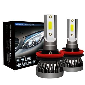 GZQP-LED头灯-1 Pair H11 Headlight Coversion LED Bulb Kit Low Beam for 2017 Subaru Forester