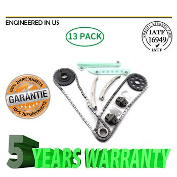 Timing Chain Kit Fit 97-07 Ford E150 F150 F250 Explorer Expediton 281CID WINDSOR