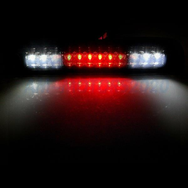 LED High Mount Third 3rd Brake Light and Cargo Light for Ford F250 F350 F450 F550 1999-2015 (Smoke Lens)