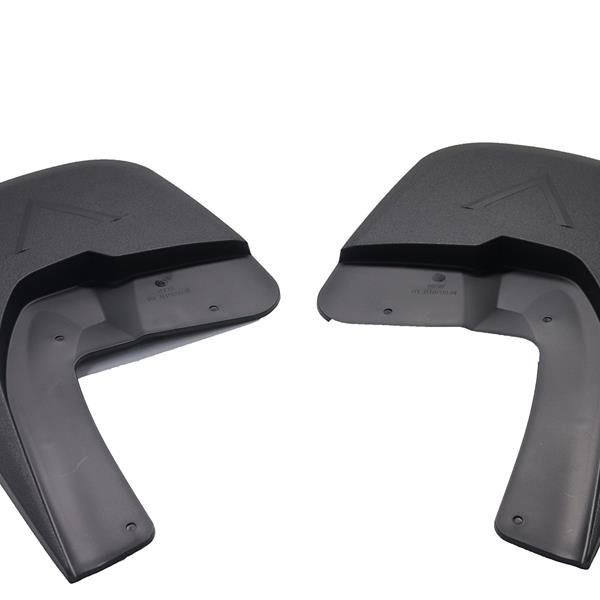 MUD FLAPS For Compatible 2009-2018 Dodge Ram W/F Fender Flares with OEM Fender Flares Pocket Rivet Style No Drilling Required Instruction is Included