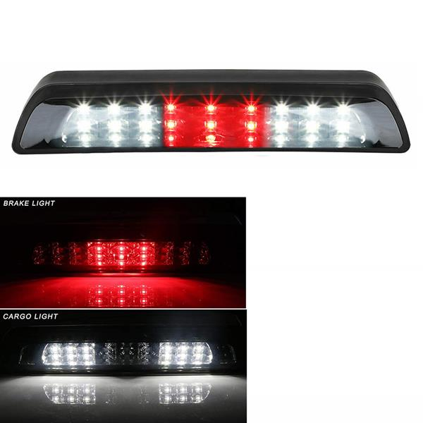 LED High Mount Third 3rd Brake Light and Cargo Light    for Toyota Tundra 2007-2018 (Smoke Lens)