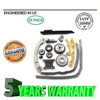 For Chevrolet Malibu 8-13 Equinox 10-15 Buick L4 2.0L 2.2L 2.4L Timing Chain Kit
