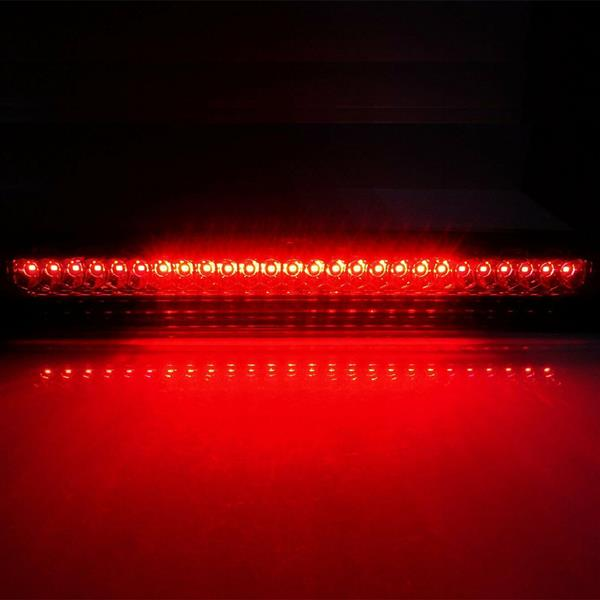 LED High Mount Third 3rd Brake Light and Cargo Light    for Nissan Titan 2004-2015 and Frontier 2005-2016 (Smoke Lens)