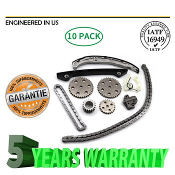 Timing Chain Kit W/ Sprockets for Ford Ranger 01-10 Mazda B2300 2001-2008 2.3L