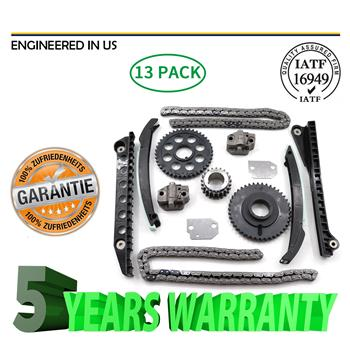 Timing Chain Kit Fit 00-11 Ford E150 F150 F250 Lincoln Navigator 5.4 V8 330
