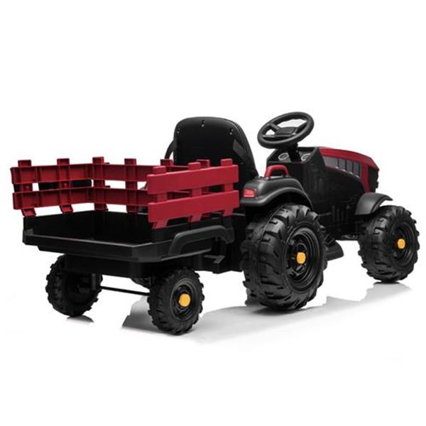 LEADZM LZ-925 Agricultural Vehicle Battery 12V7AH * 1 Without Remote Control with Rear Bucket Red