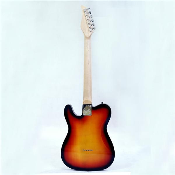 New style electric guitar basswood body maple neck maple fingerboard alnico pick up sunburst color good quality