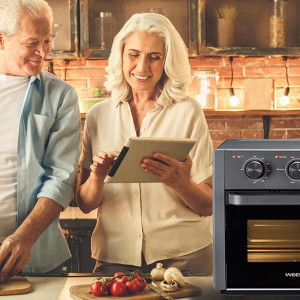 WEESTA 21Quart Air Fryer Toaster Oven Pro,5-IN-1 (DO NOT SELL ON AMAZON!)limited retail price (not less than $149.99), otherwise it will not be shipped