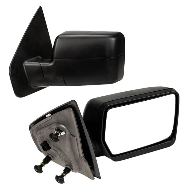 Power Side View Door Mirrors LH & RH Pair Set for 04-08 Ford F150 Pickup Truck