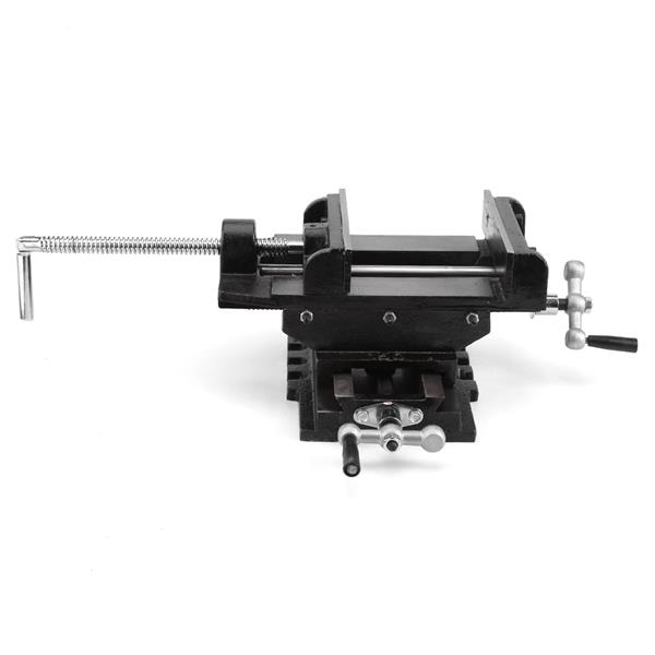 6inches Cross Slide Drill Press Vise Metal Milling Vice Holder Clamping Bench Mount
