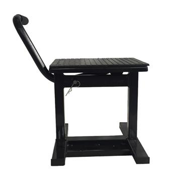 Steel Adjustable Lift Stand for Motorcycles Black