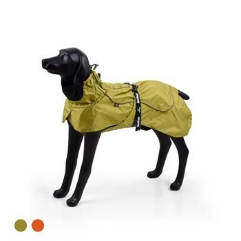 Dog Coats Small Waterproof,Warm Outfit Clothes Dog Jackets Small,Adjustable Drawstring Warm And Cozy Dog Sport Vest-(Green size M)