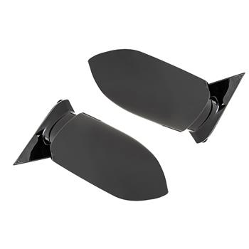 Manual Black Side Mirrors Left LH & Right RH Pair  For 88-98 GMC Chevy Pickup