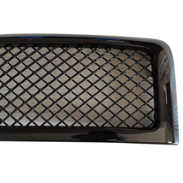 Glossy Black Front Hood Grille Grill For 94-02 Dodge Ram 1500 2500 3500