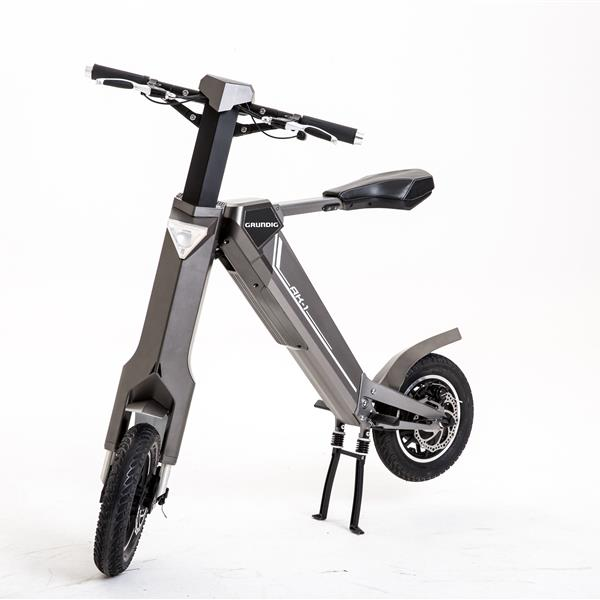 GRUNDIG E Bike Bicycle AK-1 Folding Smart Mountain E-Bike For Adults Teenager with 350W Motor Bluetooth Speaker LCD Lithium-ion Battery 25 km Long Range 3 Speed Modes