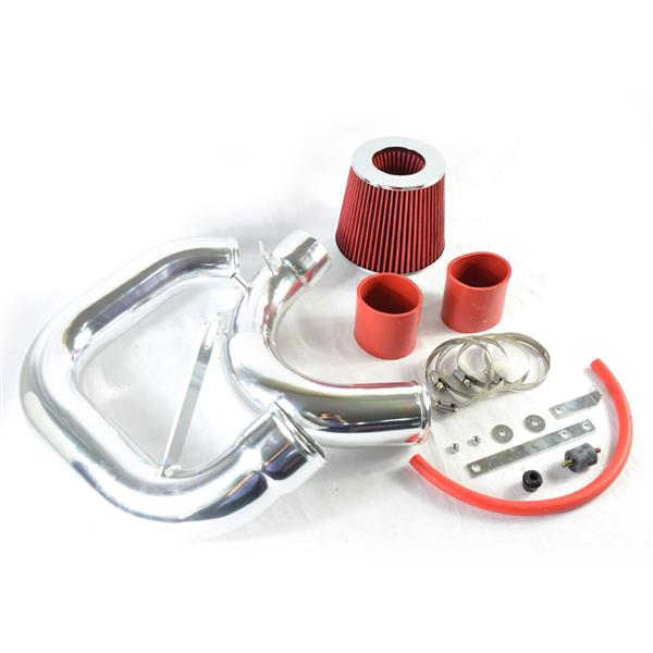 Intake Pipe with Air Filter for Mazda3 2004-2009 2.0L/2.3L Red