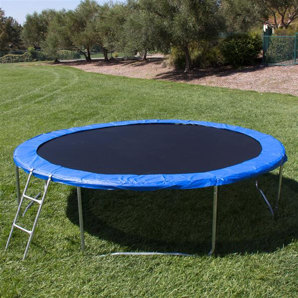 "14"" Outdoor Large Round Trampoline A box"