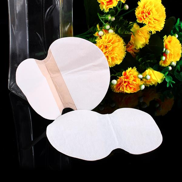 25 Pairs Disposable Underarm Sweat Pads Armpit Deodorant Antiperspirant